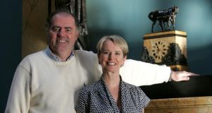 Yeats country: Edward Walsh and Constance Cassidy, owners of Lissadell. Photograph: Alan Betson