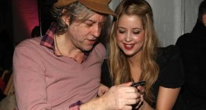 Life in the limelight: Peaches Geldof and her father, Bob, at London Fashion Week in 2009. Photograph: Danny Martindale/WireImage