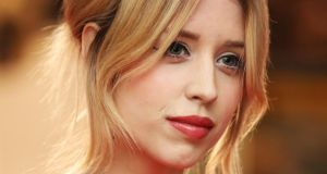 Life in the limelight: Peaches Geldof in London in January. Photograph: Dave J Hogan/Getty