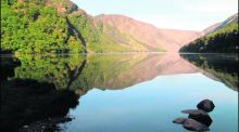 Glacial valleys of Glendalough: swimming there brings you to 'another world and time'