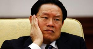 Zhou Yongkang, who is at the centre of China's biggest corruption scandal in more than six decades. Photograph: Reuters/Jason Lee