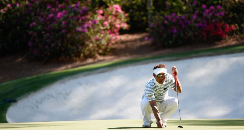 US Masters at Augusta