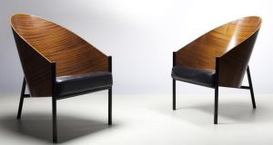 A pair of Pratfall chairs by Philippe Starck, €1,400-€1,800 at de Veres