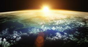 The early Earth was hit by a fast moving asteroid so large that its impact likely made the oceans boil.