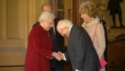 The Queen bid farewell to President Michael D Higgins this morning, drawing to a close a historic four-day state visit to the UK. Video: Reuters