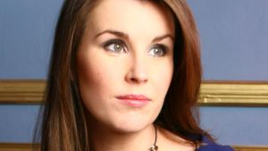 Soprano Anna Devin: sounds sweet and youthful – but only when you can hear her properly