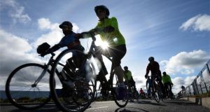 Development of a long-distance cycle route linking Tralee and Daingean would complement the development of Daingean as a cycling hub town, but this justification  was not sufficient to overcome landscape concerns, an Bord Pleanala had found. Photograph : Dara Mac Donaill / The Irish Times