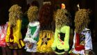 The 44th World Irish Dancing Championships open in London tomorrow. Different styles of dress at An Comhbhail World Irish Dancing Championships last year. Photograph: Cyril Byrne / THE IRISH TIMES