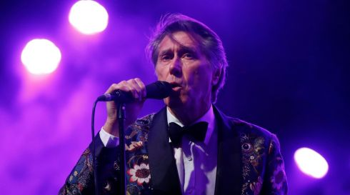 Roxy Music veteran Bryan Ferry performs at the Coachella Valley Music and Arts Festival in Indio, California. Photograph: Mario Anzuoni/Reuters