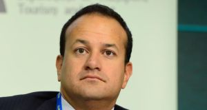 Leo Varadkar: among Ministers to issue a statement in response to a Sunday newspaper story on the subject of school transport tenders. Photograph: Frank Miller