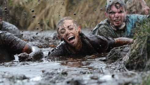 If the army put you through this, you'd say it was torture. Photograph: Charles McQuillan/Pacemaker