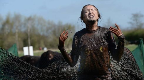 Mud can work wonders for your personal beauty. Photograph: Charles McQuillan/Pacemaker