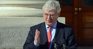Tánaiste  Eamon Gilmore: 'We are monitoring the situation very carefully, particularly in eastern Ukraine. There is an urgent need for a de-escalatation of the crisis and for Moscow to engage in serious dialogue with Ukraine's interim government.' File photograph: The Irish Times