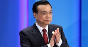 Chinese Premier Li Keqiang:  ruled out major stimulus to fight short-term dips in growth.