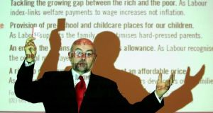 Mr Ruairí Quinn, Minister for Education. photograph: frank miller