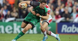 Robbie Henshaw staying with  Connacht, says Pat Lam. Photograph: Morgan Treacy / Inpho