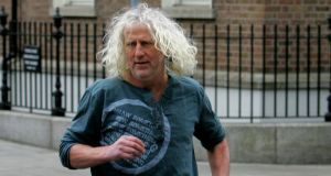 Independent Mick Wallace arriving at Leinster House. 	Photograph: David Sleator/The Irish Times