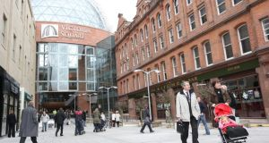 Victoria Square:  one of the most expensive shopping centre ever built in the North is experiencing a revival