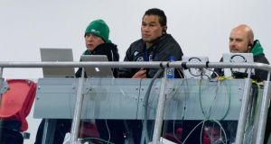 Connacht head coach Pat Lam during the game against Ulster at Ravenhill.