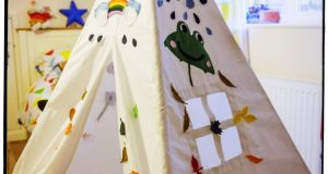 Whatever the weather Somerset-based Myweeteepee's (0044- 7717 661110 myweeteepee.co.uk) Four Season's tepee is a design that can be be enjoyed both indoors and outside. The 100 per cent cotton canvas creation costs about €182 (£150).