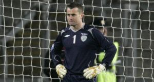 Shay Given called on to Paul Lambert's coaching staff at Aston Villa. Photographer: Dara Mac Dónaill / Inpho