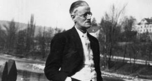 James Joyce pictured in Zurich in 1938