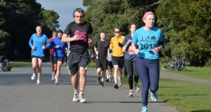 It's time to take on a 5k race this weekend - maybe your local parkrun? Photograph: Alan Betson / The Irish Times