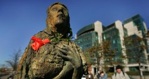 "The Famine memorial in Dublin: Tom Garvin concludes that ""the entire IRA tradition feeds off enduring memories of British indifference to the suffering of their putative ancestors"". Photograph: Kate Geraghty"