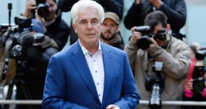 British celebrity publicist Max Clifford arrives to Southwark Crown court in London, this morning. Mr Clifford is on trial accused of a string of sex offences against children and young women. The jury has retired to consider its verdict. Facundo Arrizabalaga/EPA