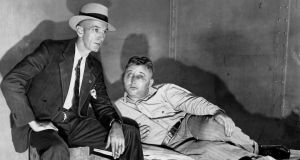 Harry F Powers, the Butcher of Clarksburg, tells a detective the details of his grisly murders Photographs: Ny Daily News archive via Getty Images