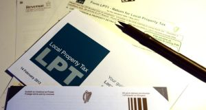 Local property tax was paid by 90% of homes but Revenue sent letters on household charge to 250,000. Photograph: Bryan O'Brien /  The Irish Times