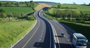 The M8: though aesthetics are also considered, the primary focus of motorway design is on safety and comfort