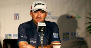 Graeme McDowell of Northern Ireland is the defending champion at the RBC Heritage in Hilton Head. Photograph:   Streeter Lecka/Getty Images