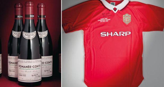 4615a902bfa Premier cru  Alex Ferguson selling wine worth €3.6m