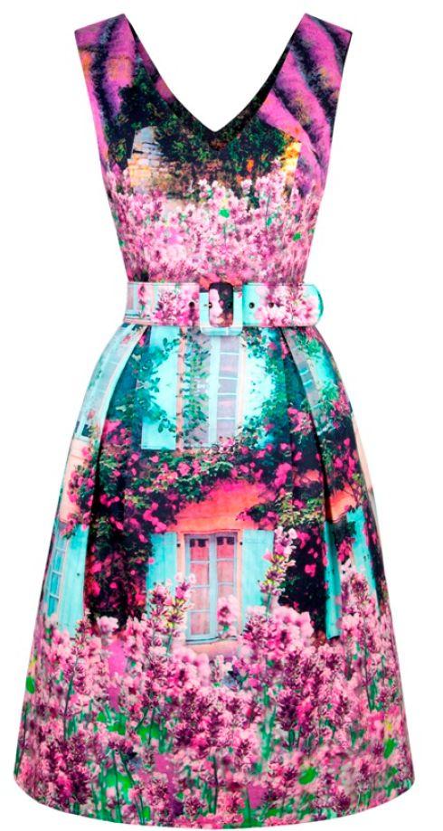 Description: Lavender fields dress, e246, feeg.ie