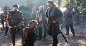 Vikings: the television series stars Gabriel Byrne and Travis Fimmel
