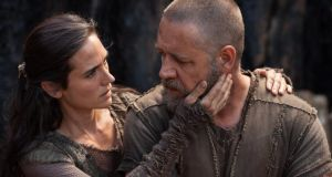Comfort food: Jennifer Connelly and Russell Crowe in Noah