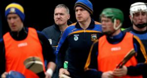 Tipperary manager Eamon O'Shea Eamon isn't a man for throwaway or unmeasured remarks. Photograph: James Crombie/Inpho
