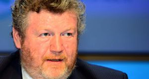 Minister for Health James Reilly: fresh talks after Easter on pay for hospital consultants. Photograph: Gareth Chaney/ Collins