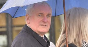 "Former taoiseach Bertie Ahern  reported as saying Fianna Fáil's performance was ""brutal"" at present. Photograph: Alan Betson"