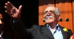 Colombian Nobel Prize laureate Gabriel Garcia Marquez has died in  Mexico. Photograph: Edgard Garrido/Files