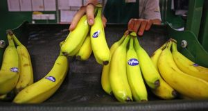 The merger of Fyffes with Chiquita for €362m contributed to the high total deal value in the food sector. Photograph: Chris Ratcliffe/Bloomberg