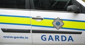 Gardaí searching for driver of vehicle at Killeens. Stock photograph: Frank Miller/The Irish Times