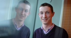 Paul Markey, intern with Mental Health Reform. Photograph: Alan Betson
