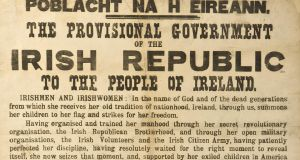 An original copy of the 1916 Proclamation sold for €90,000 at Adam's