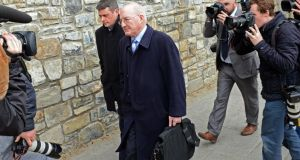 Guilty: Willie McAteer, who made illegal loans to the Maple 10. Photograph: Brian Lawless/PA