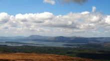 Bantry Bay and the Caha Mountains from Mullaghmesha