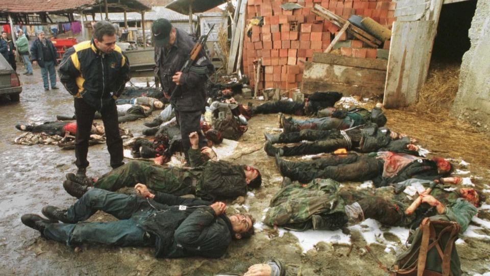 the terrorist acts of albania against serbs in kosovo 2010-12-12 which showed that by terrorist acts they  militant activities form the neighboring albania (terrorist  armed albanian formations against the kosovo serbs be fully investigated by the hague.