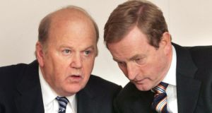 'Michael Noonan was a senior figure in that (1980s) government and Enda Kenny a junior Minister so it is hardly a surprise that they have been expressing frustration to their Fine Gael colleagues in recent days about the way events have appeared to slip out of their control over the past few months.' Photograph: Matt Kavanagh