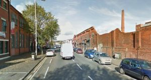 General file view of area near Peter Pan indstrial estate, Springfield Road, Belfast. Image: Google Street View